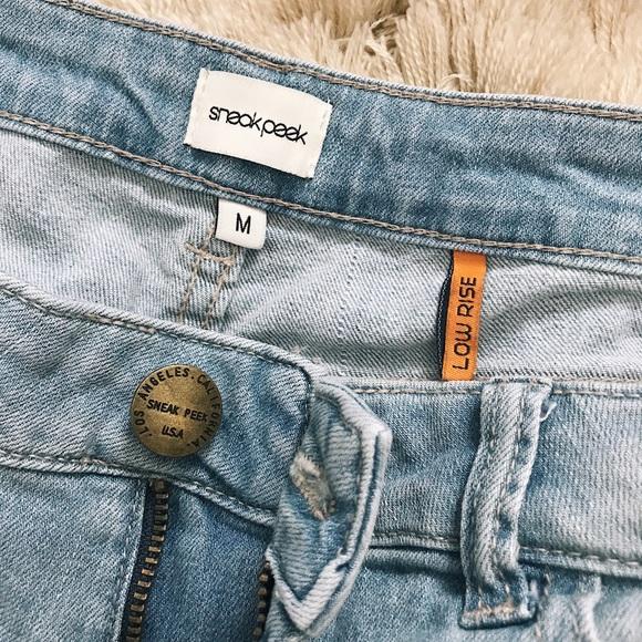 Sneak Peek Pants - SNEAK PEEK - Jean Shorts